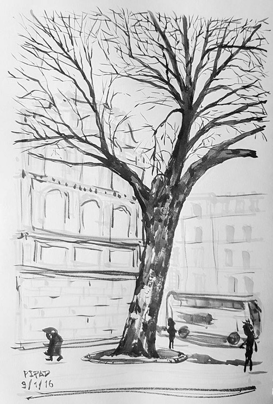 Sketch from London-02