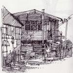 บ้านไม้ 1 โดย Worawit Pitakponrat