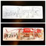 Panorama Sketching