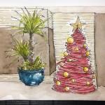 สเก็ตช์ความสุขเทศกาลคริสต์มาส ส่งท้ายปีเก่า 2013 ต้อนรับปีใหม่ 2014
