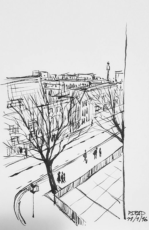 Sketch from London-03